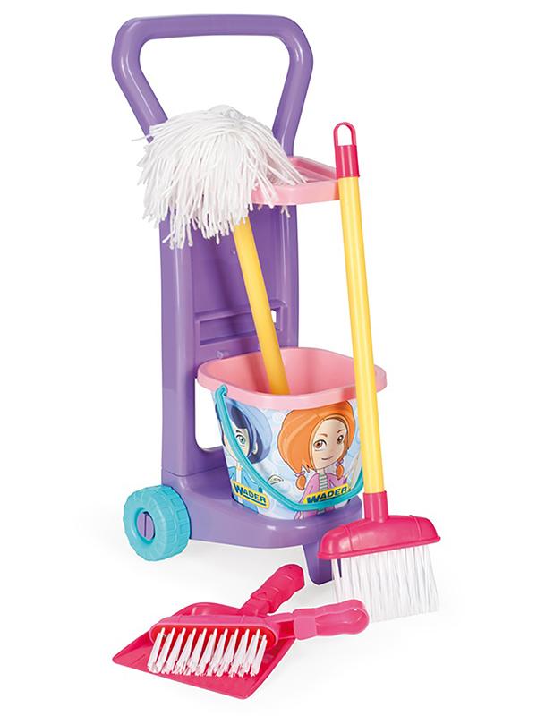 Игровой набор для уборки Wader Маленькая хозяйка 10774