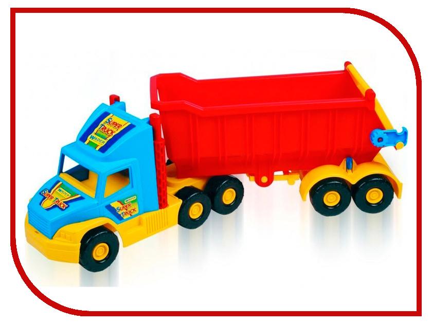 Игрушка Wader Super Truck Грузовик 36400 машины wader автомобиль констрак полиция