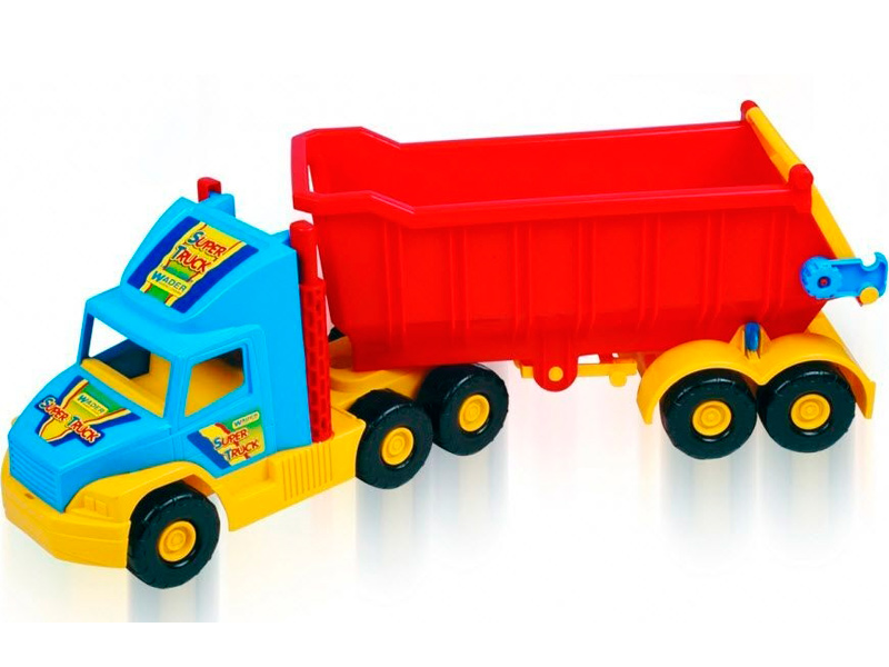 Игрушка Wader Super Truck Грузовик 36400