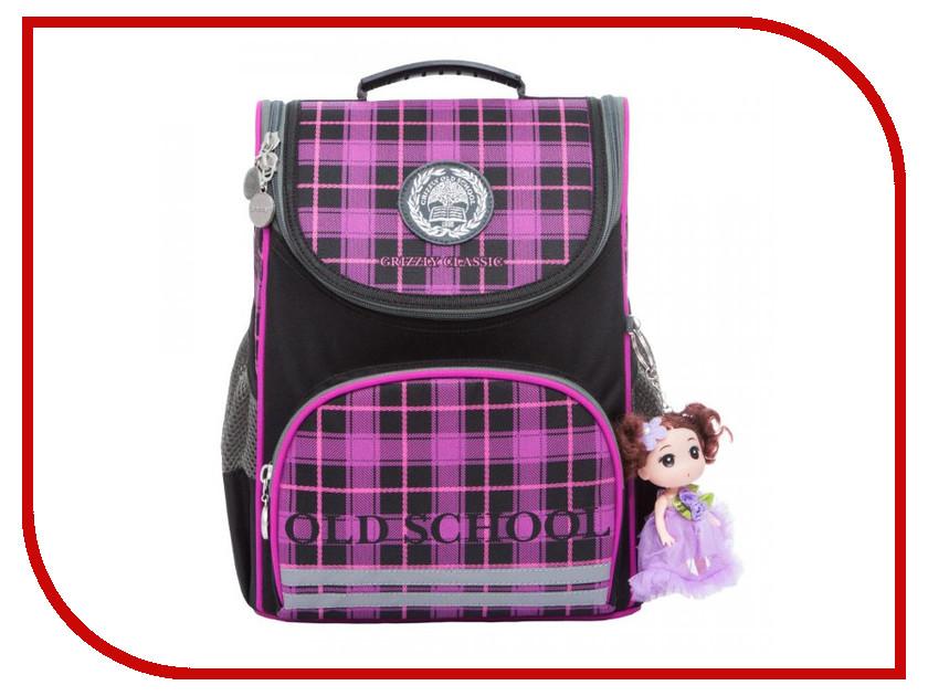 Рюкзак Grizzly RA-873-6/1 Black-Violet ra