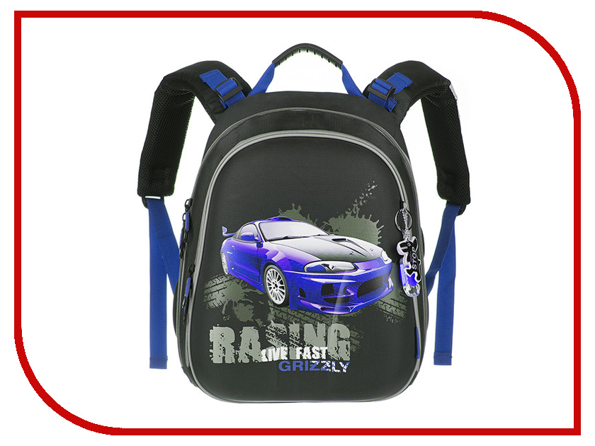 Рюкзак Grizzly RA-878-6/2 Black-Blue ra