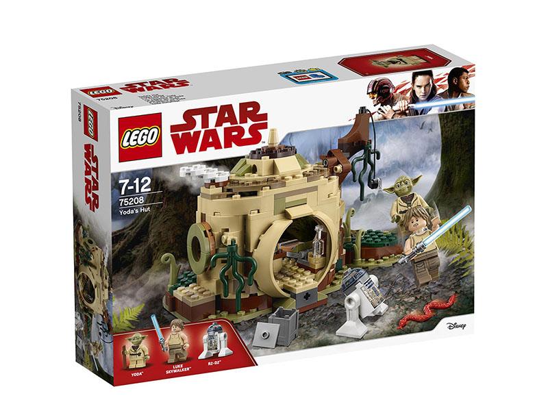 Конструктор Lego Star Wars Хижина Йоды 75208