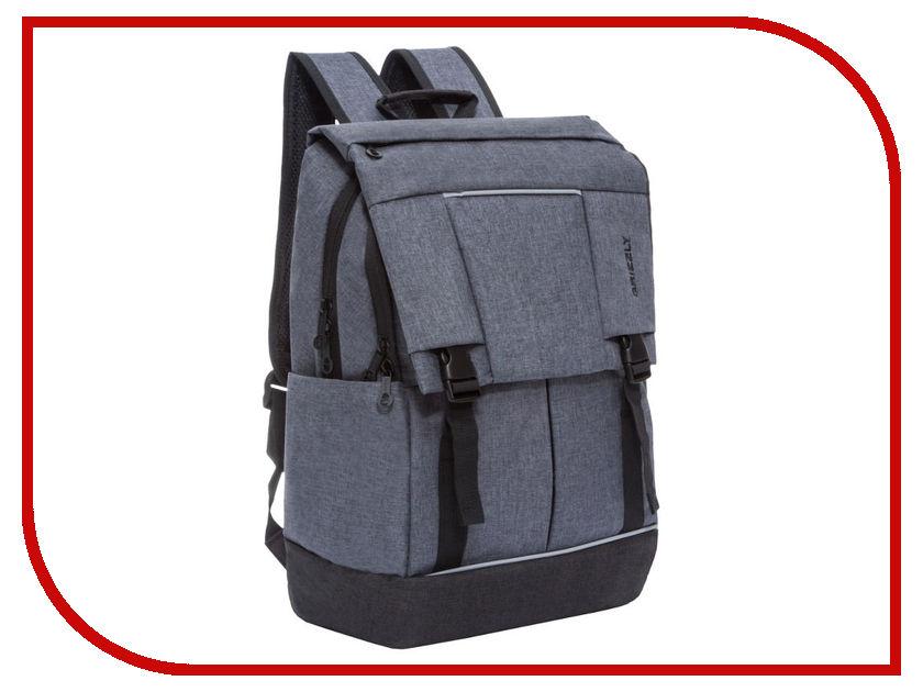 Рюкзак Grizzly RU-810-1/1 Grey-Black grizzly ru 623 1 3