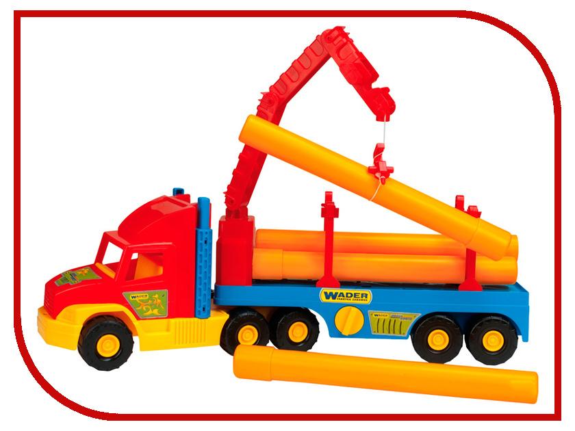 Игрушка Wader Super Truck Строительный 36540 машины wader автомобиль констрак полиция