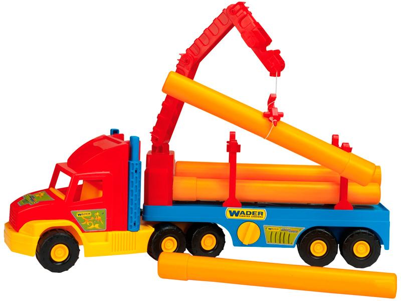 Игрушка Wader Super Truck Строительный 36540 игрушка wader super truck строительный 36540