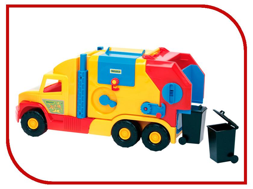 Игрушка Wader Super Truck Мусоровоз малая 36580 игрушка ecx circuit stadium truck ecx03030t2