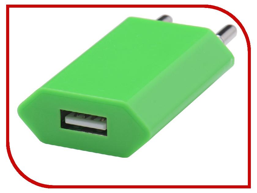 Зарядное устройство Liberty Project USB 1А SM000124 Green