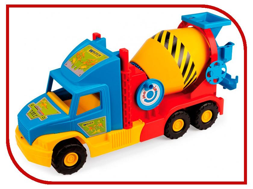 Игрушка Wader Super Truck Бетономешалка малый 36590 игрушка ecx circuit stadium truck ecx03030t2