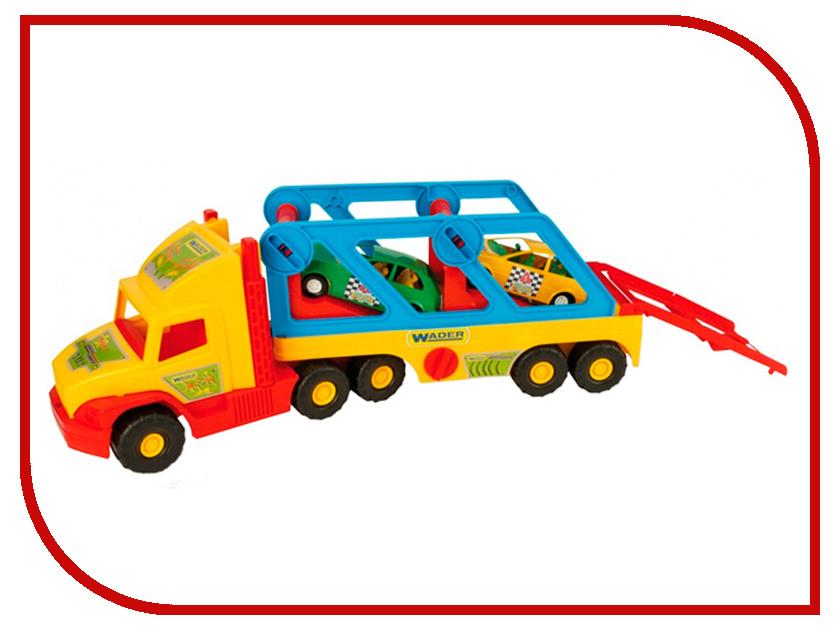 Игрушка Wader Super Truck с авто купэ 36640 игрушка ecx circuit stadium truck ecx03030t2