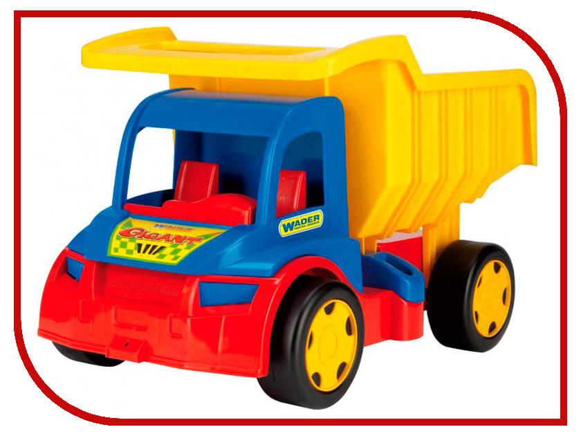 Игрушка Wader Грузовик Гигант 65000 игрушка wader super tech truck с мусоровозом 36730