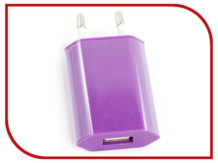 Зарядное устройство Liberty Project USB 1А SM000121 Lilac aluminum project box splitted enclosure 25x25x80mm diy for pcb electronics enclosure new wholesale