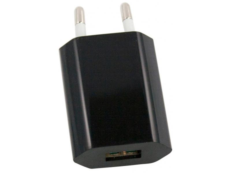 Зарядное устройство Liberty Project USB 1А SM000119 Black