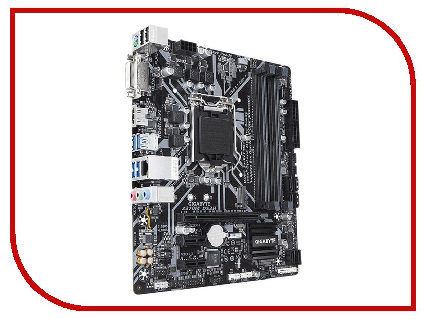 Материнская плата GigaByte Z370M DS3H original motherboard for gigabyte ga b85m ds3h a lga 1150 ddr3b85m ds3h a 32gb usb3 0 b85 desktop motherboard free shipping