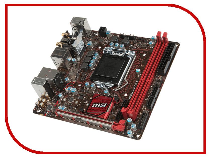 Материнская плата MSI B250I GAMING PRO AC msi ge series ge70 apache pro 681 17 3 inch gaming laptop aluminum black