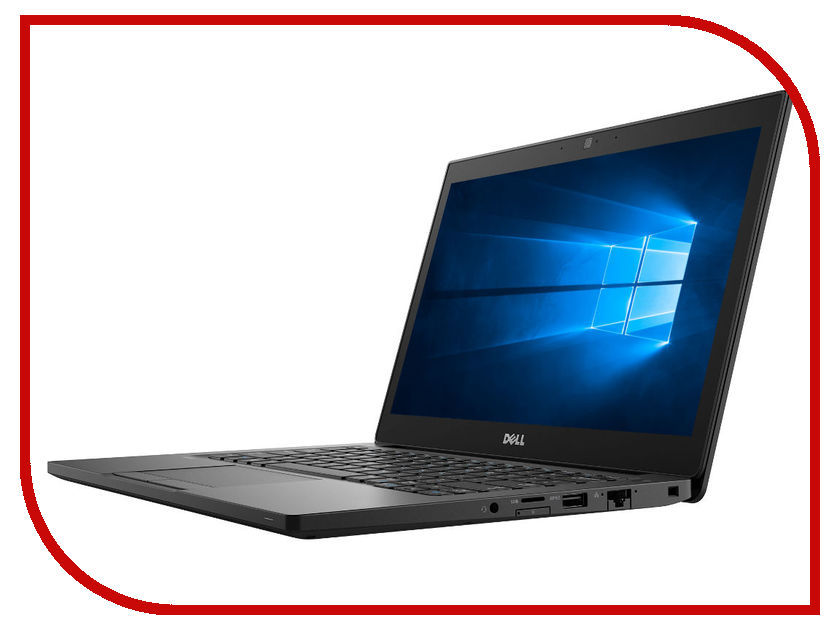 Фото Ноутбук Dell Latitude 7290 7290-1610 (Intel Core i5-8250U 1.6 GHz/8192Mb/256Gb SSD/No ODD/Intel HD Graphics/Wi-Fi/Cam/12.5/1366x768/Windows 10 64-bit)