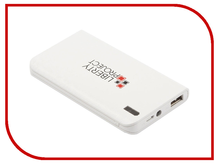 Аккумулятор Liberty Project 0L-00029996 6000mAh White