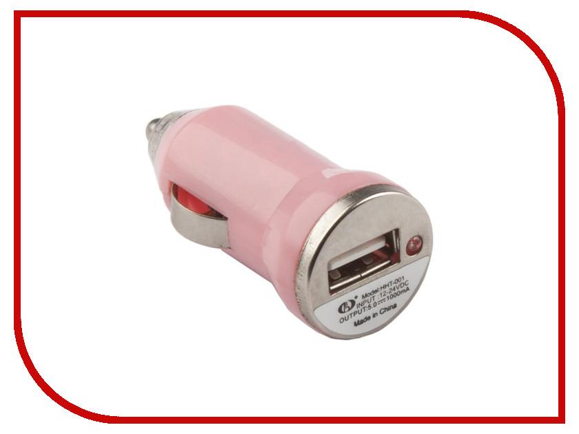 Зарядное устройство Liberty Project 1xUSB Pink R0003911 aluminum project box splitted enclosure 25x25x80mm diy for pcb electronics enclosure new wholesale
