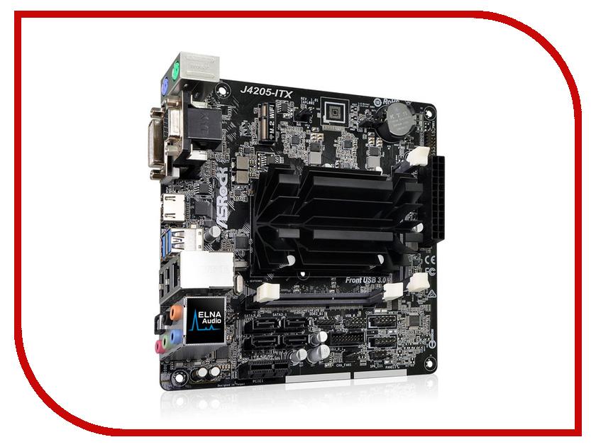 Материнская плата ASRock J4205-ITX asrock fm2a68m dg3