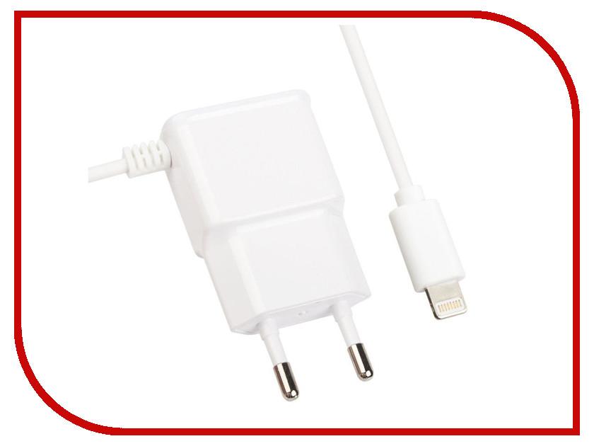 Зарядное устройство Liberty Project 1А Apple 8 pin White 0L-00032797 зарядное устройство liberty project 3xusb 3 1а 0l 00000676 white