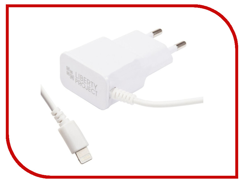 Зарядное устройство Liberty Project 2.1А Apple 8 pin White 0L-00030222 4 pin push tactile switches 140 pcs