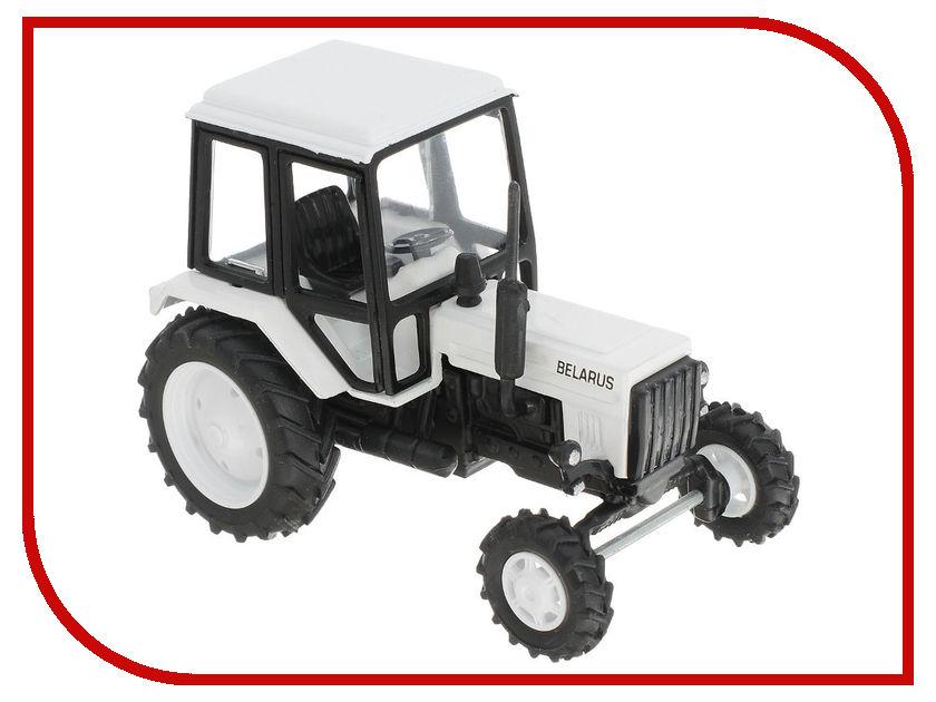 Игрушка Мир отечественных моделей Трактор МТЗ-82 24/24 1:43 White 411