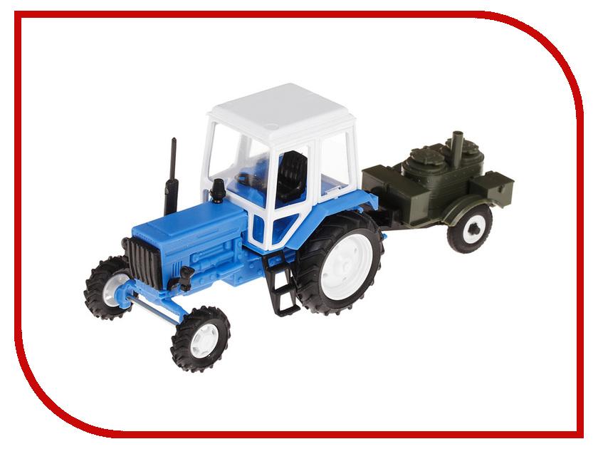 Игрушка Мир отечественных моделей Трактор МТЗ-82 с прицепом Полевая кухня 24/24 1:43 468