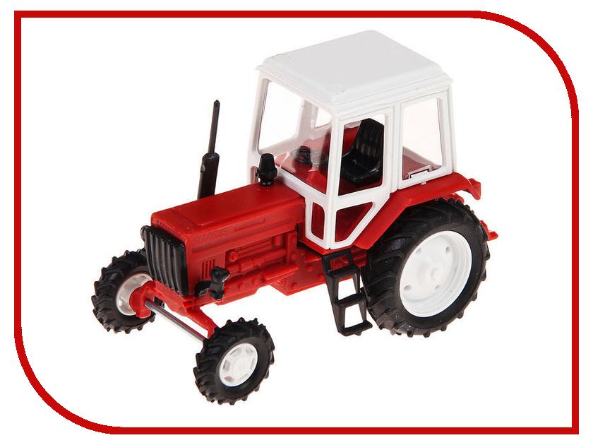 Игрушка Мир отечественных моделей Трактор МТЗ-82 24/24 1:43 Red-White 504