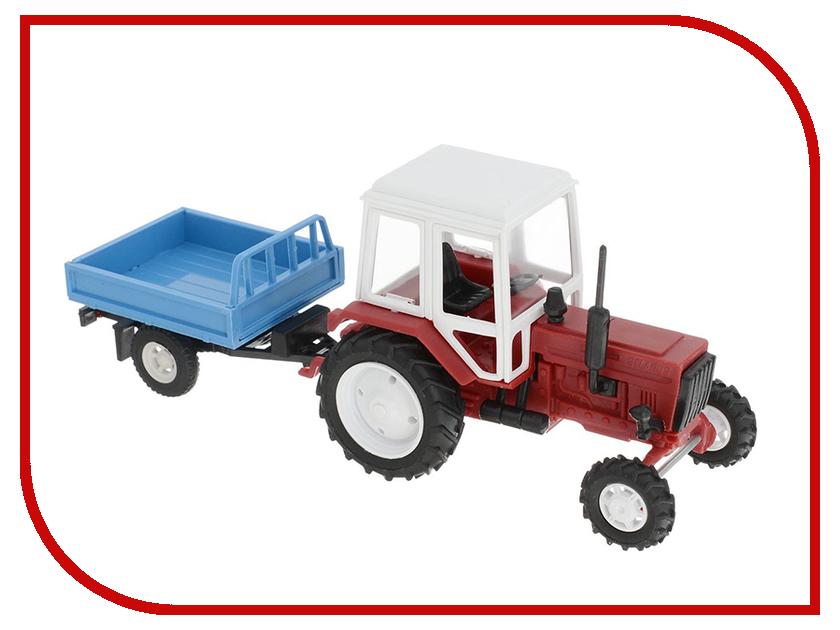 Игрушка Мир отечественных моделей Трактор МТЗ-82 с прицепом 24/24 1:43 Red 507 карбюратор беларусь мтз 05