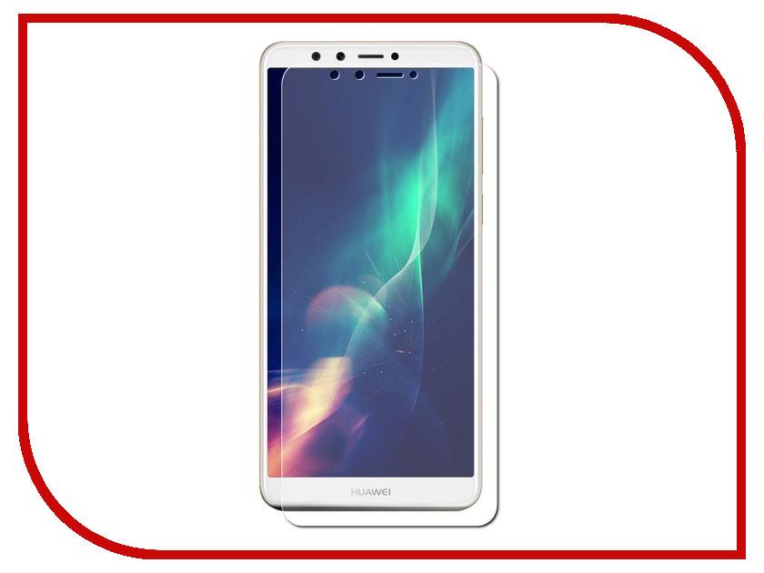 Фото Аксессуар Защитная пленка Huawei Y9 (2018) LuxCase на весь экран для прозрачная 89022 аксессуар защитная пленка htc u play luxcase прозрачная на весь экран 88990