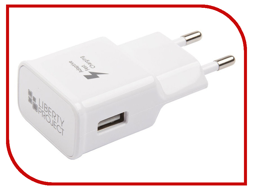 Зарядное устройство Liberty Project Fast Charge USB USB-Type-C 1.67A White 0L-00032741 10pcs usb male plug connector with white folding shell gold plated welding type charge date line diy plugs