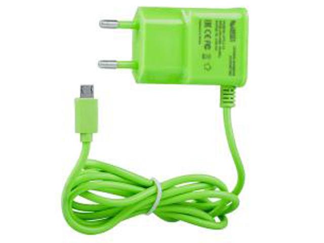 Зарядное устройство Liberty Project MicroUSB 1A Green 0L-00000677 цена и фото