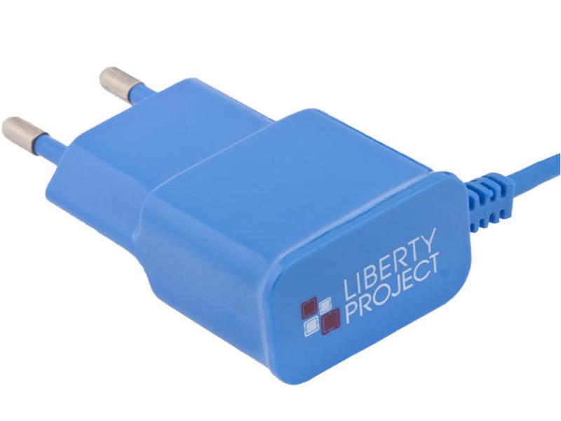 Зарядное устройство Liberty Project MicroUSB 1A Blue 0L-00000678