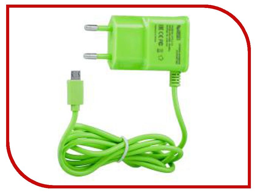 Зарядное устройство Liberty Project MicroUSB 2.1A Green 0L-00000682 зарядное устройство liberty project microusb 2 1a blue 0l 00000683