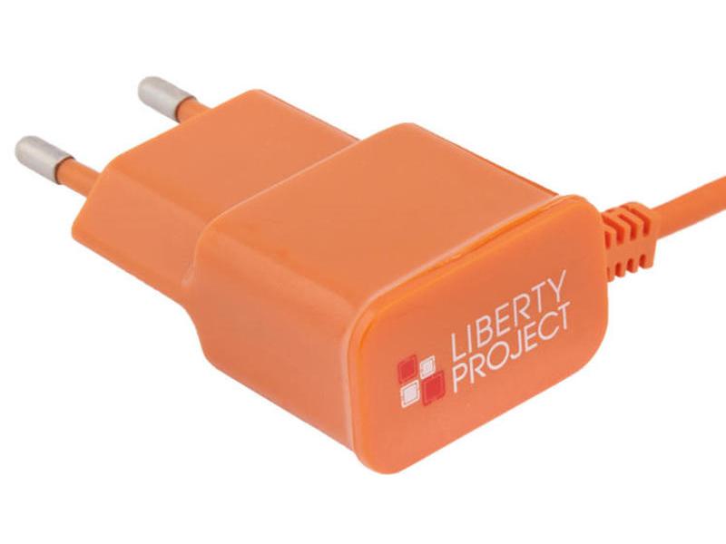 Фото - Зарядное устройство Liberty Project MicroUSB 2.1A Orange 0L-00000685 автомобильное зарядное устройство liberty project 5 в 1