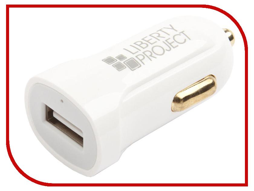 Зарядное устройство Liberty Project USB USB-Type-C 2.1A White 0L-00032727 зарядное устройство liberty project 3xusb 3 1а 0l 00000676 white
