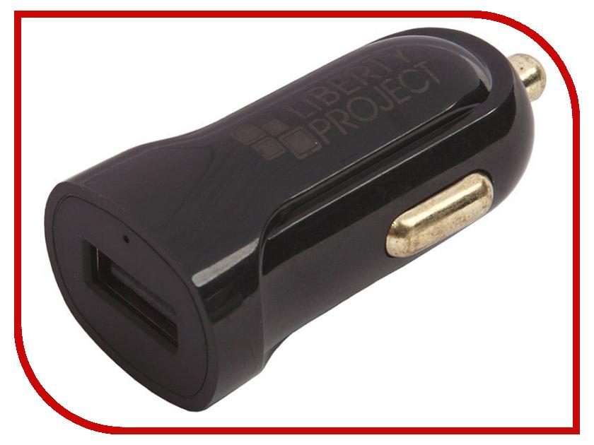 Зарядное устройство Liberty Project USB USB-Type-C 2.1A Black 0L-00032726 зарядное устройство activ usb 1000 ma black 15682