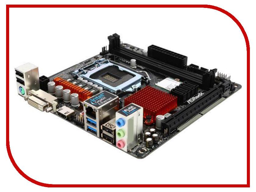 Материнская плата ASRock H110M-ITX h110m plus