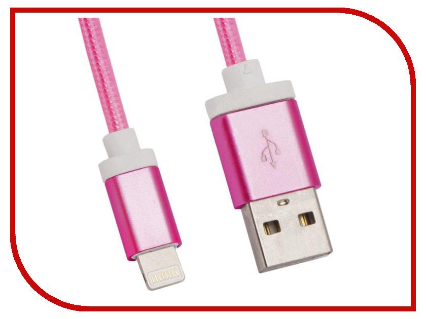 Аксессуар Liberty Project USB-Lightning 8 pin 1.5m Pink 0L-00027327 аксессуар interstep usb lightning 8 pin iph5mfivt 39692
