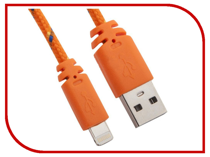 Аксессуар Liberty Project USB-Lightning 8 pin 1m Orange 0L-00001176