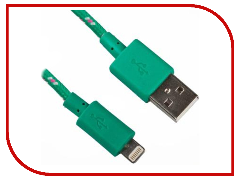 Аксессуар Liberty Project USB-Lightning 8 pin 1m Green 0L-00000314