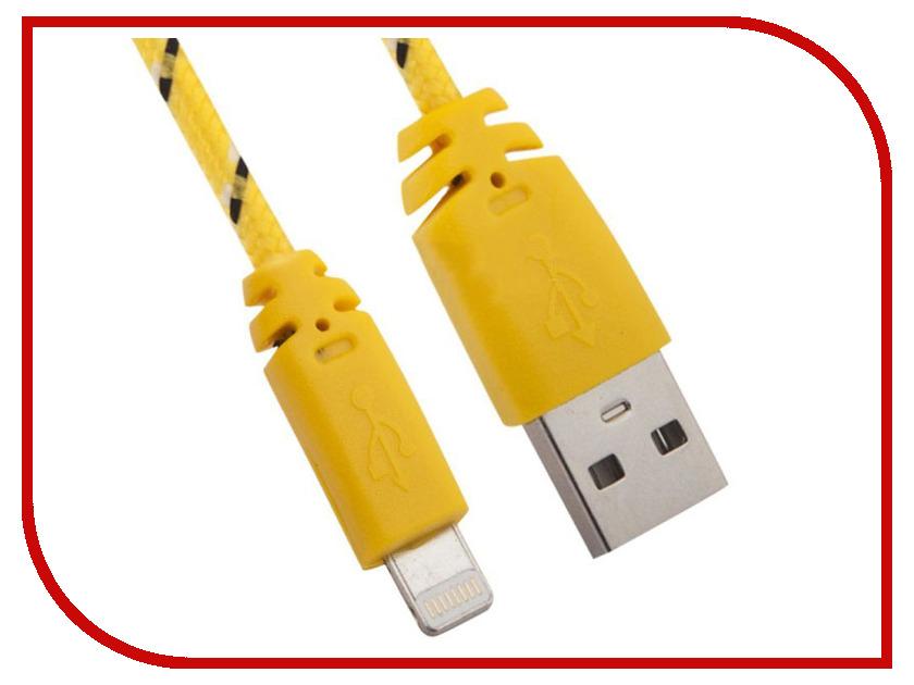 Аксессуар Liberty Project USB-Lightning 8 pin 1m Yellow 0L-00000318 аксессуар liberty project кабель usb lightning 1m white light blue 0l 00030547