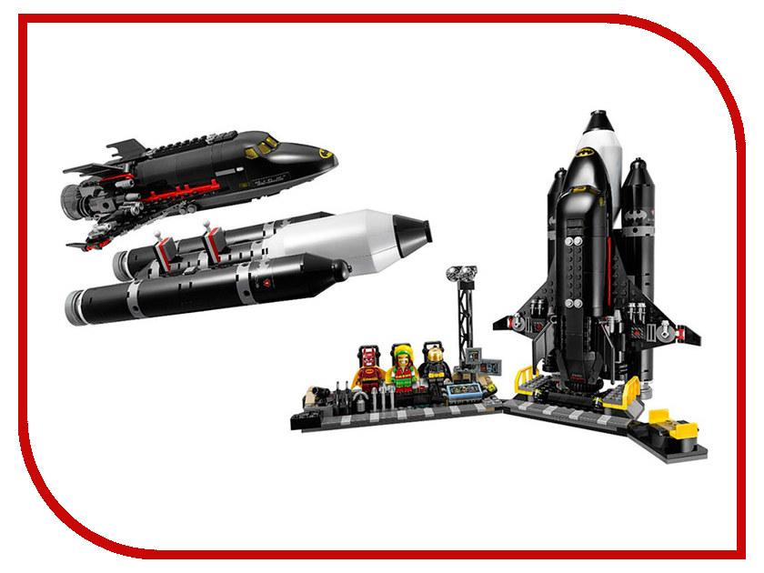 Конструктор Lepin Batman Космический шаттл Бэтмена 720 дет. 07098 конструктор lepin fairytale сказочный замок спящей красавицы 360 дет 25012