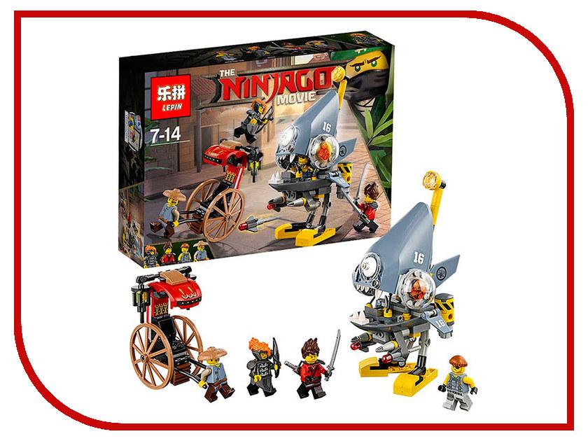 Конструктор Lepin Ninjagasaga Нападение пираньи 243 дет. 06068 конструктор lepin fairytale сказочный замок спящей красавицы 360 дет 25012