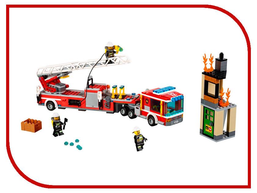 Конструктор Lepin Cities Пожарная машина 421 дет. 02086 конструктор lepin fairytale сказочный замок спящей красавицы 360 дет 25012