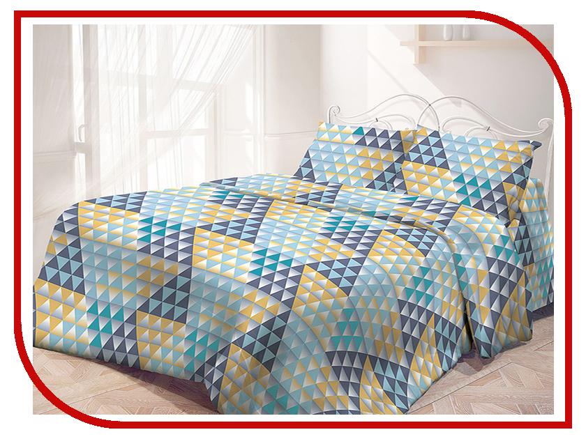 Постельное белье Самойловский текстиль Цветные зеркала Комплект 1.5 спальный Бязь 713557