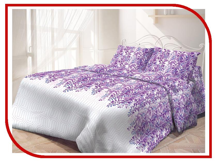 Постельное белье Самойловский текстиль Японский сад Комплект 1.5 спальный Бязь 713566 постельное белье самойловский текстиль ноктюрн комплект евро бязь 714231