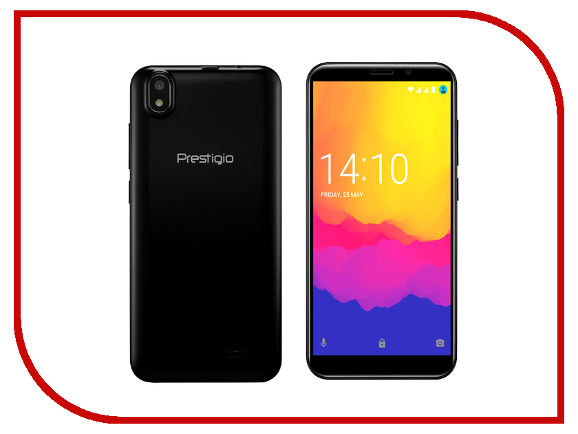 Сотовый телефон Prestigio Wize Q3 Black PSP3471DUOBLACK сотовый телефон senseit t100 black
