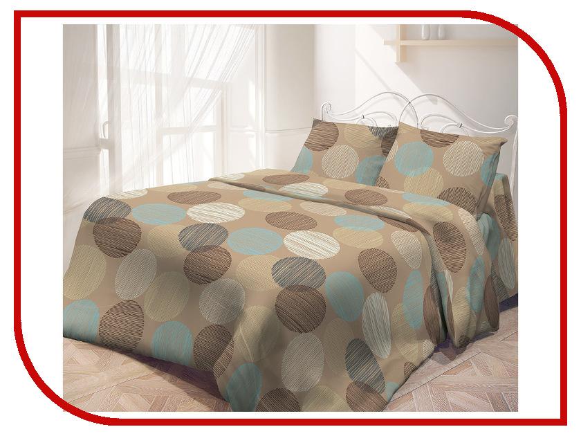 Постельное белье Самойловский текстиль Капучино Комплект 2 спальный Бязь 713567 постельное белье самойловский текстиль ноктюрн комплект 2 спальный бязь 714230