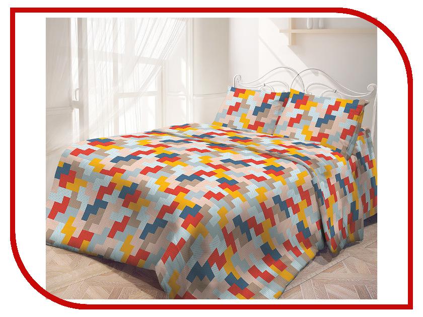 Постельное белье Самойловский текстиль Лабиринт Комплект 2 спальный Бязь 714183
