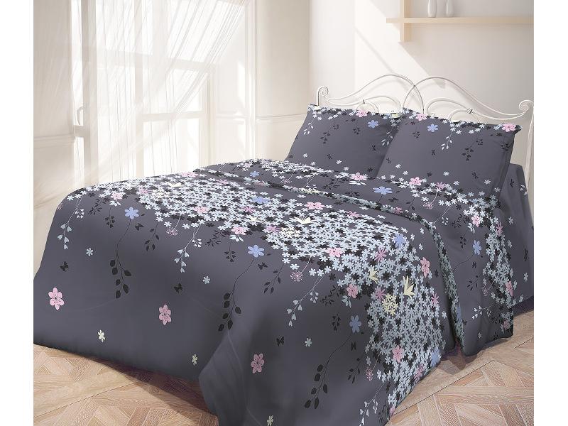 Постельное белье Самойловский текстиль Незабудка Комплект 2 спальный Бязь 713953